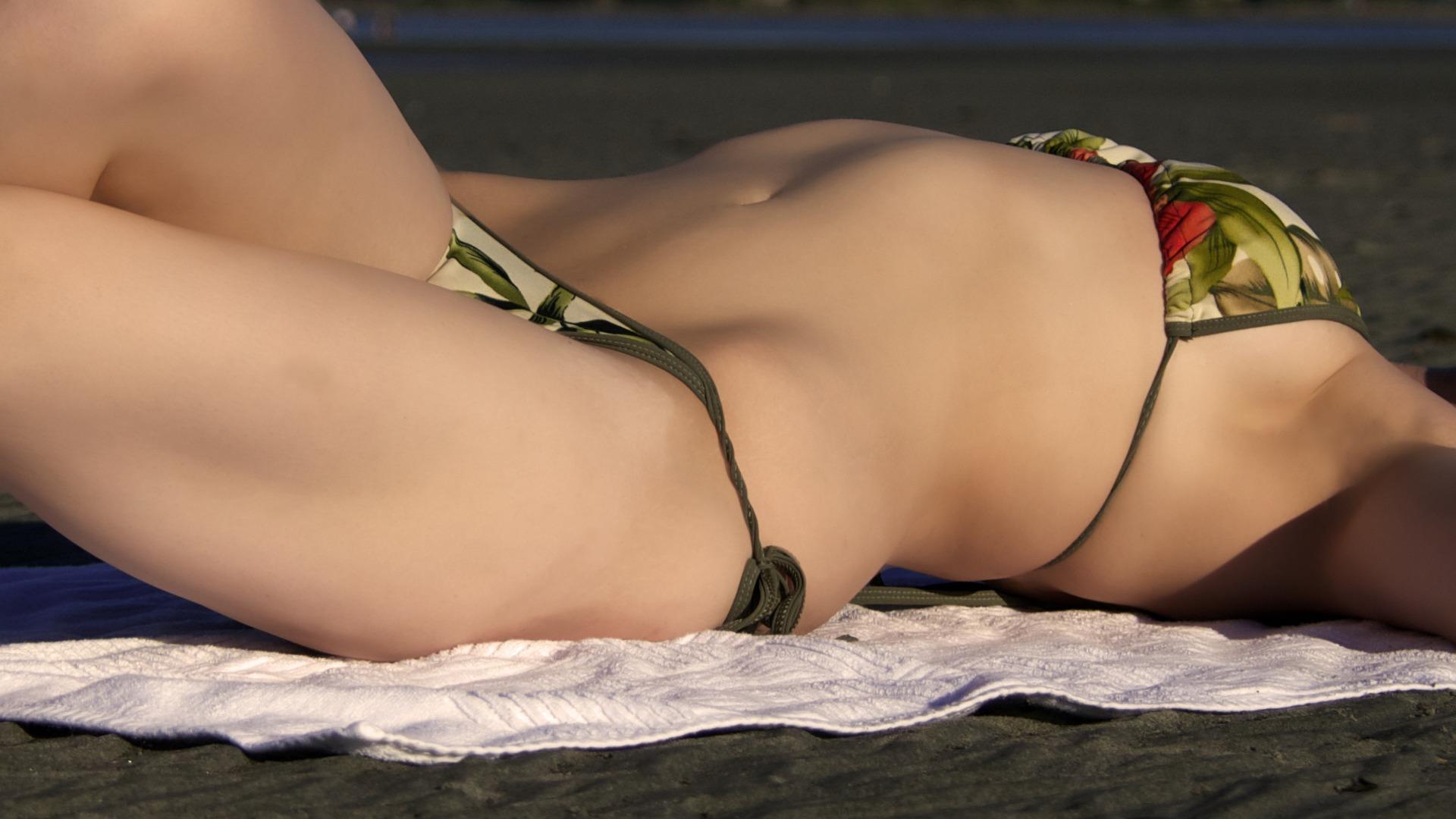 Bikini, oder Badeanzug auf blogtante.de