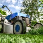 Rasenmähen bei Regen auf blogtante.de